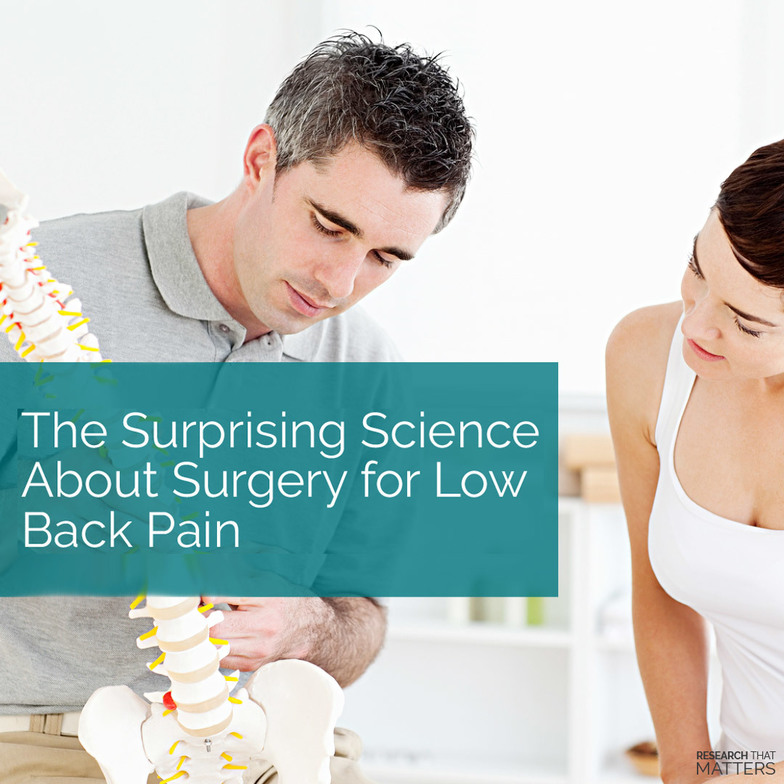 Low back pain treated by a chiropractor in overland park